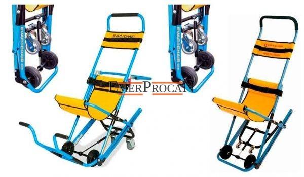 Silla Evac Chair – Foto Detalle Sillas Evac Chair AMB